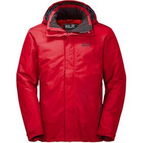 Jack Wolfskin Northern Edge Hardshell Jacket Men peak red
